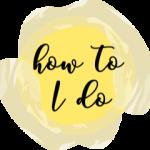 How to I Do Logo - Transparent