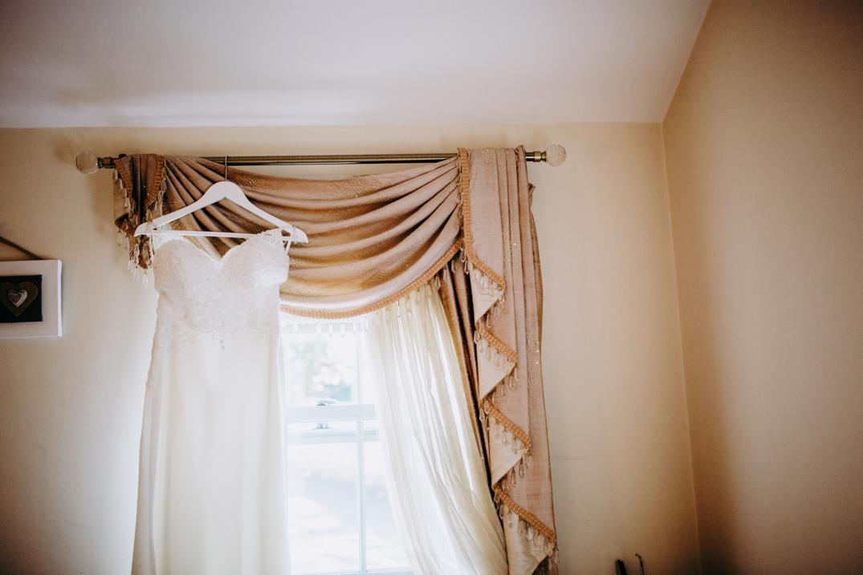 Lulu Browns wedding dress